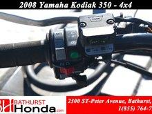 2008 Yamaha Kodiak 350 Automatic! Winch! Independent Suspension!