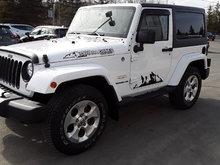 2014 Jeep Wrangler Sahara Navigation.