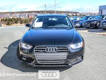 2014 Audi A4 2.0 6sp Komfort
