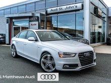 2016 Audi A4 2.0T Progressiv plus quattro 6sp