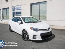 2015 Toyota Corolla 4-door Sedan S 6M