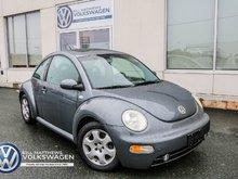 2002 Volkswagen Beetle GLS 2.0L at