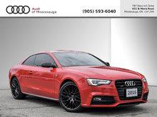 2016 Audi A5 2.0T Progressiv Plus quattro 8sp Tiptronic Cpe