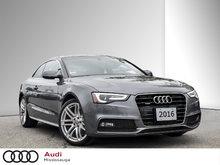 2016 Audi A5 2.0T Progressiv quattro 8sp Tiptronic Cpe