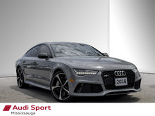 2018 Audi RS 7 4.0T Performance quattro 8sp Tiptronic