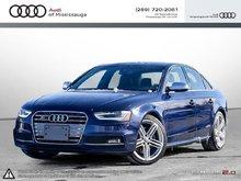 2014 Audi S4 3.0 7sp S tronic Progressiv