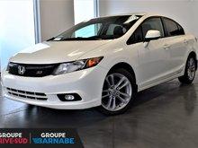 Honda Civic Sdn ***Si MANUEL GPS TOIT OUVRANT BLUETOOTH *** 2012