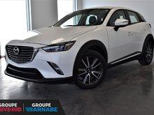 Mazda CX-3 **GT AWD CUIR TOIT OUVRANT GPS CAMERA DE RECUL ** 2017