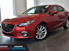 Mazda Mazda3 *GT SIÉGE CHAUFFANT BLUETOOTH CAMERA DE RECUL * 2016