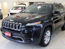 2016 Jeep Cherokee 4x4 Limited