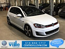 Volkswagen Golf GTI AUTOBAHN+DSG+LEATHER+TECH PACK (CLEAN!) 2016