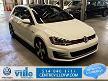 2016 Volkswagen Golf GTI PERFORMANCE+LEATHER PACK+TECHNO PACK (RARE+CLEAN)