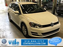 2015 Volkswagen Golf Sportwagon TRENDLINE + CAMERA RECUL, 1.8TSI, AUTOMATIC