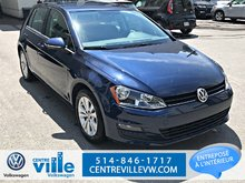 2015 Volkswagen Golf COMFORTLINE+BACKUP CAMERA+LEATHERETTE (CLEAN)