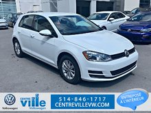 2015 Volkswagen Golf TRENDLINE+1.8TSI+CRUISE PACK (LOW KM)(CLEAN)