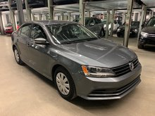Volkswagen Jetta 1.8 TURBO TSI - TRENDLINE PLUS + CAMERA(CERTIFIED) 2015