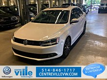 2013 Volkswagen Jetta 2.5L SPORTLINE+LEATHER+SUNROOF+MAGS 17 (CLEAN!)