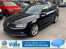 Volkswagen Jetta HIGHLINE 1.8TSI+LEATHER+LED+CARPLAY+KESSY+(CLEAN!) 2017