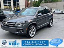 2015 Volkswagen Tiguan HIGHLINE+R-LINE+TECH PACK (LOW KM)(CLEAN)(WOW)