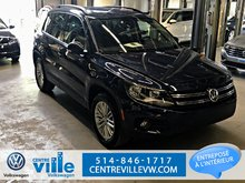 Volkswagen Tiguan SPECIAL EDITION 4MOTION+CAMERA+REMOTE START(CLEAN) 2015
