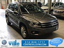 2016 Volkswagen Tiguan HIGHLINE 4MOTION (NAVI, CAMERA, LEATHER,++)(CLEAN)