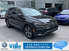 2018 Volkswagen Tiguan HIGHLINE 4MOTION +SUNROOF+NAVI+FENDER AUDIO(CLEAN)