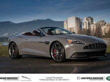 2014 Aston Martin Vanquish Volante Touchtronic