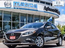 2015  Mazda3 Sport GS   No Accidents   Htd Sts   Rear Cam   Bluetooth