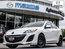 2010  Mazda3 GX   As Is   No Accidents   A/C   FM/AM/CD