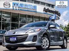 2013  Mazda3 GS   1Owner   Htd Sts   Bluetooth   A/C   Keyless