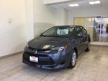 2017 Toyota Corolla 4dr Sdn CVT LE
