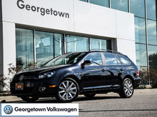 2014 Volkswagen Golf WAGON   HIGHLINE   MANUAL   HITCH   PANOROOF   CPO
