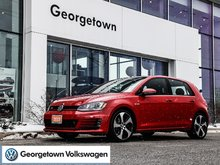 2015 Volkswagen GTI MANUAL   TORNADO RED   ROOF   LEATHER   CPO