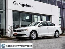 2015 Volkswagen Jetta TRENDLINE PLUS     LOWKMS   CPO