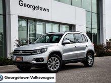 2014 Volkswagen Tiguan COMFORTLINE   PANORAMIC   LEATHERETTE   AWD