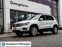 2017 Volkswagen Tiguan WOLFSBURG   LOWKM   AWD   APPCONNECT   CPO