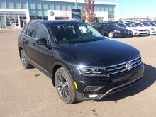 2018 Volkswagen Tiguan Highline 2.0T 8sp at w/Tip 4M