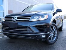 2017 Volkswagen Touareg Wolfsburg Edition   Keyless access with push butto