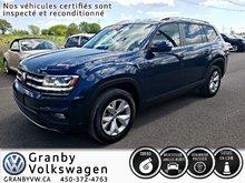 2018 Volkswagen Atlas Comfortline Cuir Cruise Adaptatif