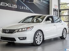 2014 Honda Accord Sedan Touring, Navigation, Camera, Cuir.