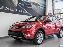 2014 Toyota RAV4 Ltd, Nav, Cam, Cuir. $96/Sem txs incluses