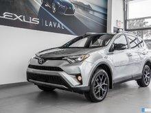 Toyota RAV4 SE AWD, Navi, Camera, Cuir, Toit. 2017