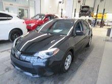 Toyota Corolla CE TRÉS PROPRE 2015