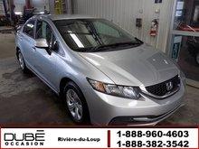 Honda Civic Sdn LX *SIÈGES CHAUFFANTS* 2013