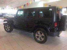 2016 Jeep Wrangler Unlimited Sahara 2 TOITS 4X4 **147$/SEM**