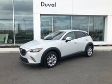 Mazda CX-3 GS AWD, GPS NAV, CAMERA DE RECUL 2016