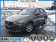 2018 Mazda CX-3 GX + CLIMATISATION + CAMERA DE RECUL + BLUETOOTH