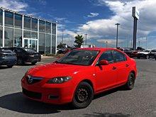 2008  Mazda3 GX + PRISE AUXILIAIRE