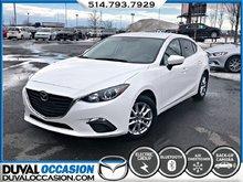 Mazda Mazda3 GS + CAMERA DE RECUL + CLIMATISATION + BLUETOOTH 2015