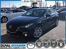 2016 Mazda Mazda3 GT TECH + NAVIGATION + CUIR + TOIT